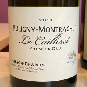 Buisson-Charles, Puligny-Montrachet, Les Caillerets, 1er Cru 2013