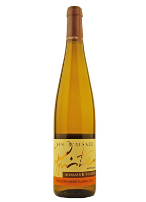 Domaine Pfister, Gewurztraminer, Tradition Alsace 2013