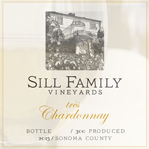 Sill Family Vineyards, très Chardonnay, Sonoma Coast 2016