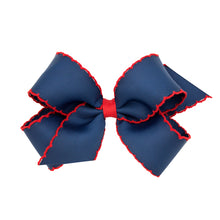 Load image into Gallery viewer, Moonstich Hair Bow - More Colors Available