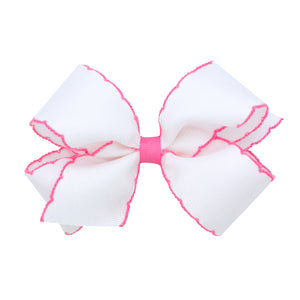 Moonstich Hair Bow - More Colors Available