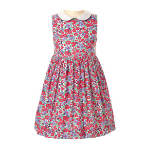 Garden Floral Peter Pan Collar Dress