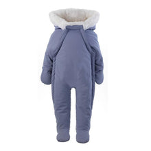 Load image into Gallery viewer, Faux Fur Trim Snowsuit | Pink or Blue