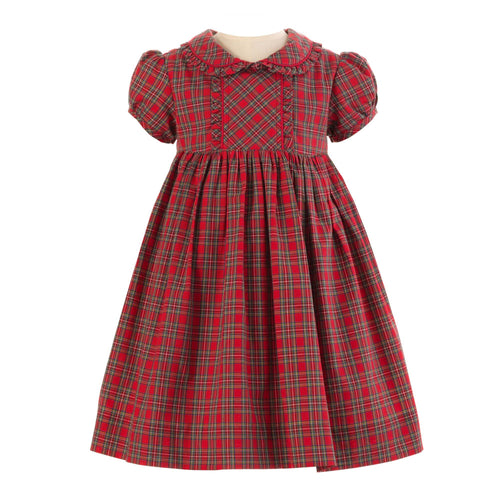 Baby & Girls Tartan Frill Dress