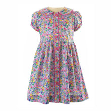 Load image into Gallery viewer, Garden Floral Button-Front Dress