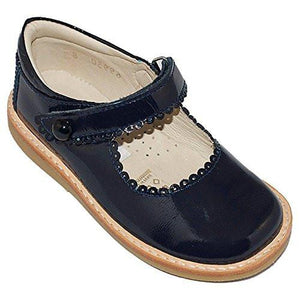 Mary Jane | Black or Navy Patent