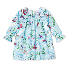 Load image into Gallery viewer, Girls Elsa Dress | Ski Lodge Print