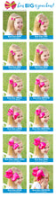 Load image into Gallery viewer, Medium Grosgrain Hair Bow - More Colors Available
