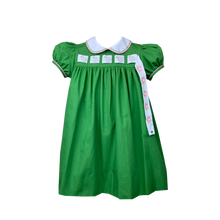 Load image into Gallery viewer, Girls Dress with Interchangeable Ribbon