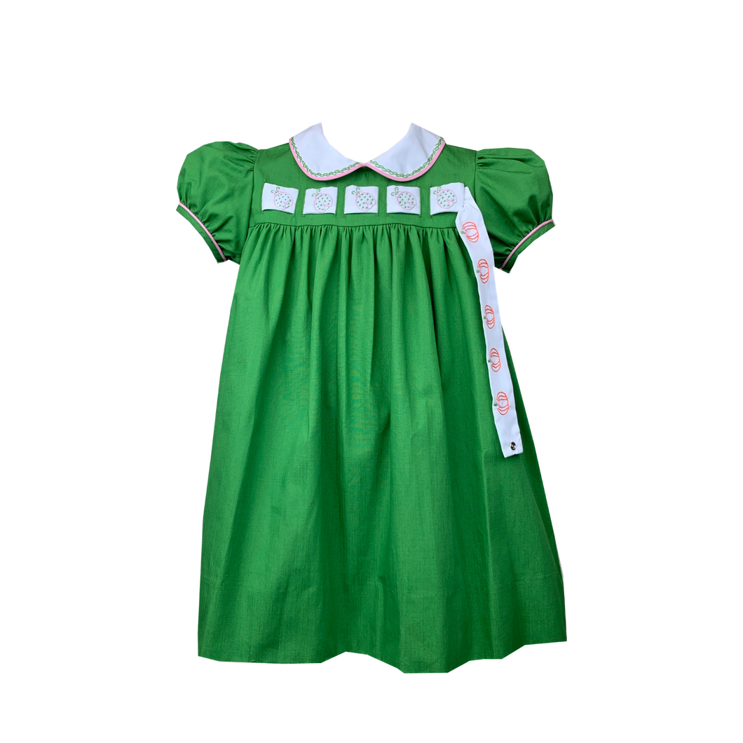 Girls Dress with Interchangeable Ribbon