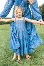 Load image into Gallery viewer, Girl's Maxi Dress | Rio Blue