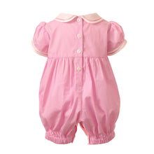 Load image into Gallery viewer, Bow Smocked Babysuit