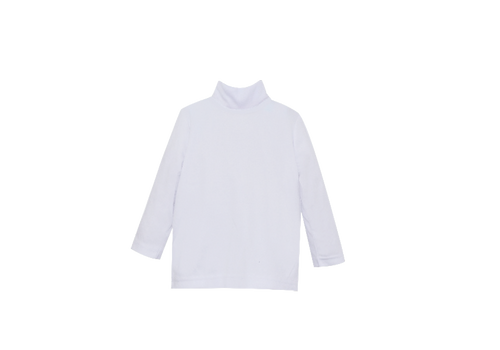 Unisex Turtleneck | White Knit