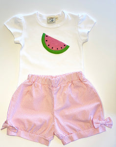 Girl's T-shirt | Watermelon Applique