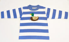 Load image into Gallery viewer, Boys Long Sleeve T-shirt | Duck Applique