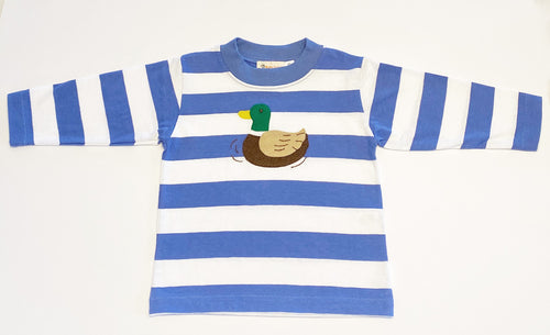 Boys Long Sleeve T-shirt | Duck Applique