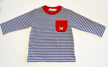 Load image into Gallery viewer, Boy's Striped Long Sleeve Shirt | Multiple Colors Available
