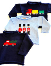 Load image into Gallery viewer, Boys Sweater | Train Intarsia