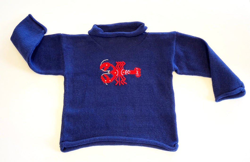 Unisex Sweater | Lobster Intarsia