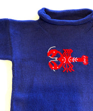 Load image into Gallery viewer, Unisex Sweater | Lobster Intarsia