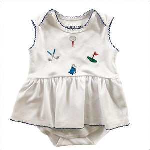 Baby Girl Golf Romper