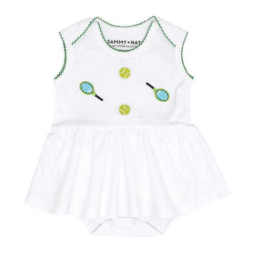 Baby Girl Tennis Romper