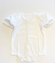Load image into Gallery viewer, Baby Puff Sleeve Shirt - White