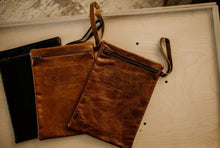 Load image into Gallery viewer, Leather Nappy Pouch