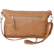 Load image into Gallery viewer, Jeankelly Vanilla Leather Sling Changing Clutch Bag