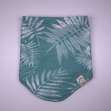 Load image into Gallery viewer, Prickly Pear Aqua Bandana Bib
