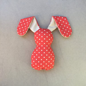Red Polka Dot Bedtime Bunny