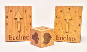 Euchre Card Scoring Set