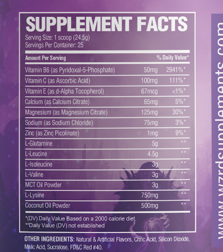 Elixir: BCAAs/Hydration Matrix