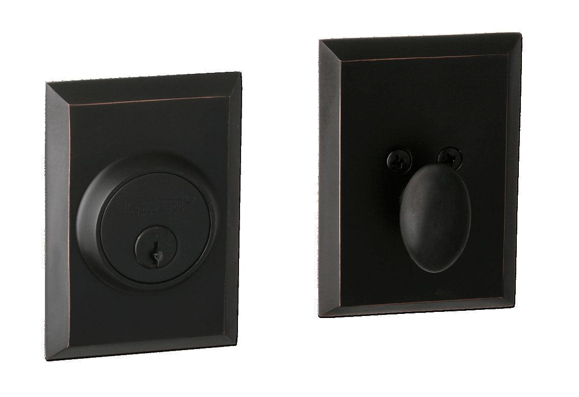 Bravura Brass Hardware deadbolt 910-1 square deadbolt Set- CALL FOR OUR BEST PRICE