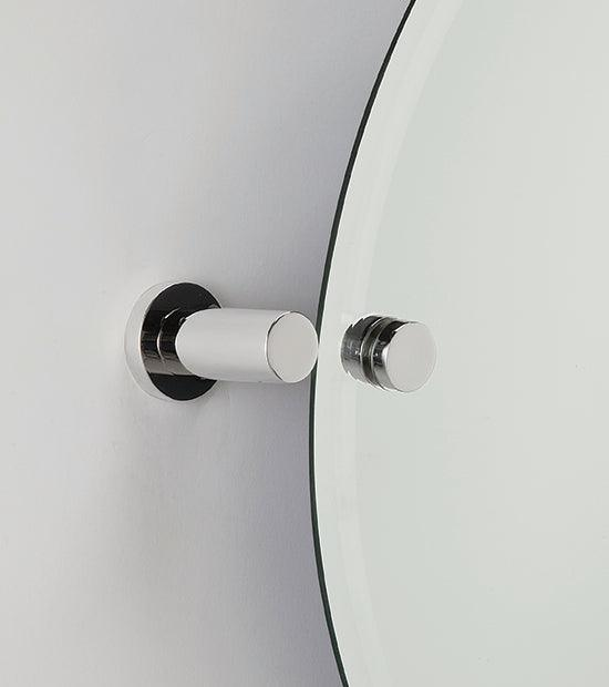 Alno A8391-PC<strong> Mirror Brackets from the Contemporary I Collection</strong>