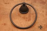 RK International  BE5 Beaded Bell Base Towel Ring