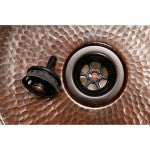 "Premier Copper Products 2"" Bar Basket Strainer Drain Oil Rubbed Bronze - D-133ORB"