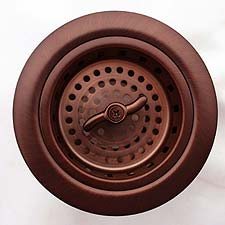 Linkasink D003 Spin and Turn  Basket Strainer Drain 3.5""