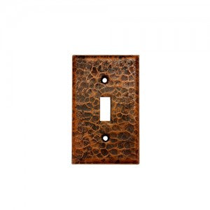 Premier Copper Products Copper Switchplate Single Toggle Switch Cover - ST1
