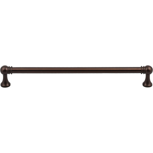 "Top Knobs TK806ORB<strong> Kara Pull 8 13/16"" (c-c) - Oil Rubbed Bronze</strong>"