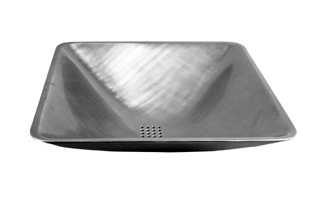 Sun Valley Bronze SVB- VS-18  Square Vessel Sink  18""