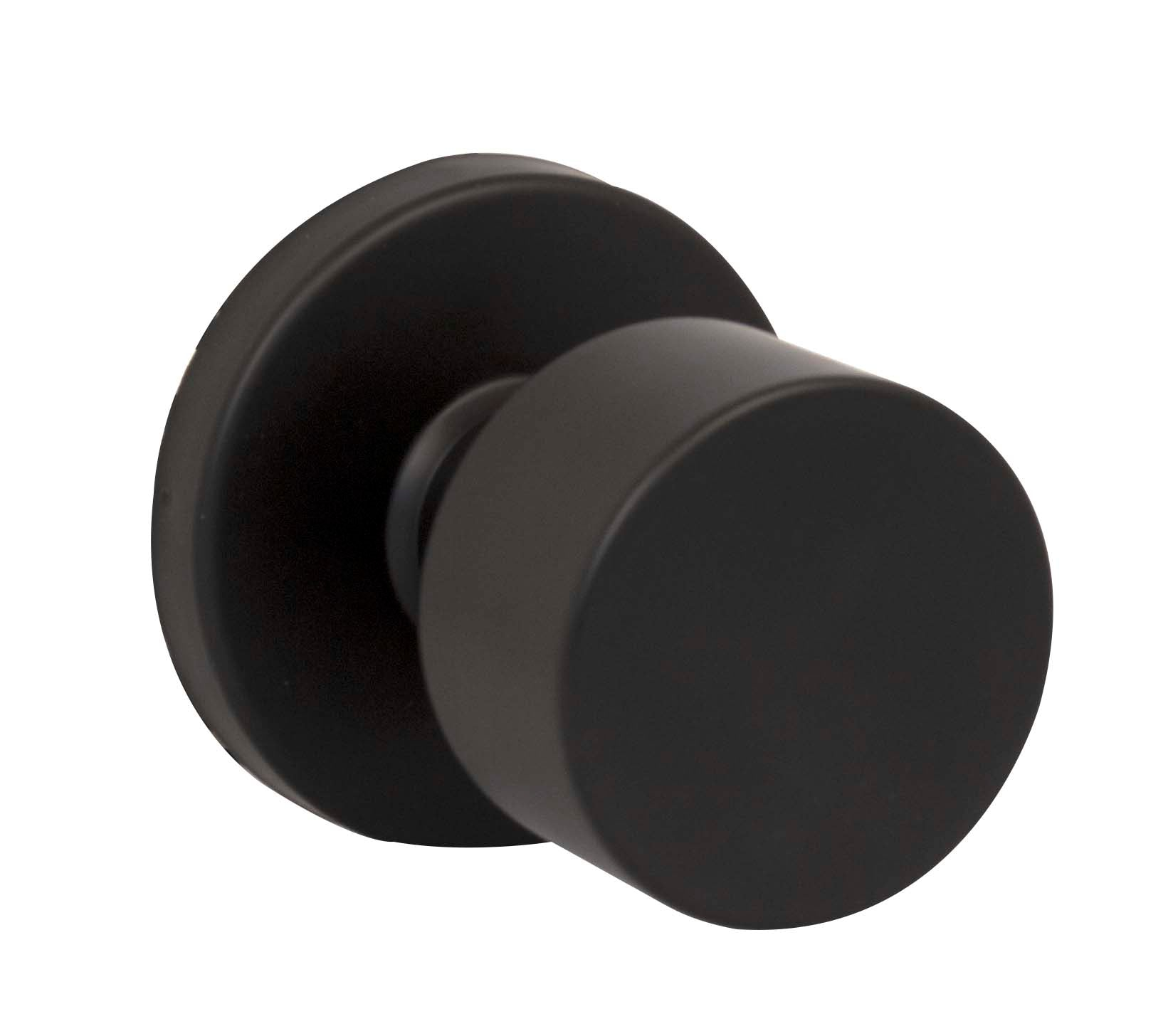 Taymor 30-D006124BLK <strong>BARCELONA KNOB Knobset in Matte Black</strong>
