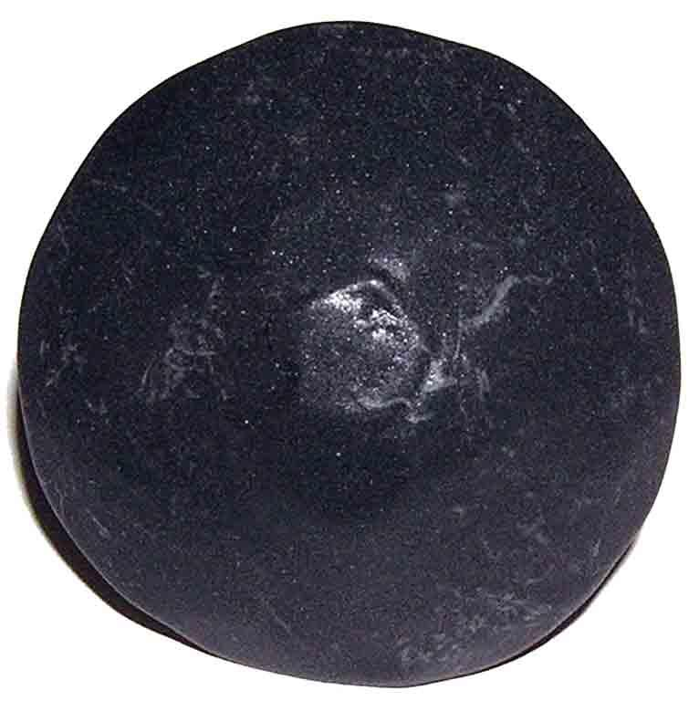 Agave Ironworks CL003-01 Wrought Iron Door Clavos - Medium - Round - Flat Black Finish - 1""