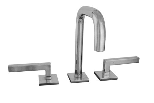 Sun Valley Bronze SVB-CS-LF06-PN925/L-172  Everly Deck Mount Faucet  Shown w/P-N925 escutcheons and L-172 levers