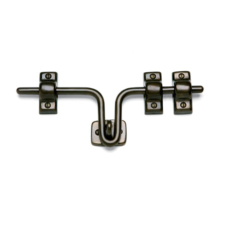 Sun Valley Bronze SVB- HASP-10  Hasp Latch with 3 Guides  10""