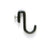 Sun Valley Bronze SVB- PR-3  Pot Hook w/Thumb Screw  3 1/4""