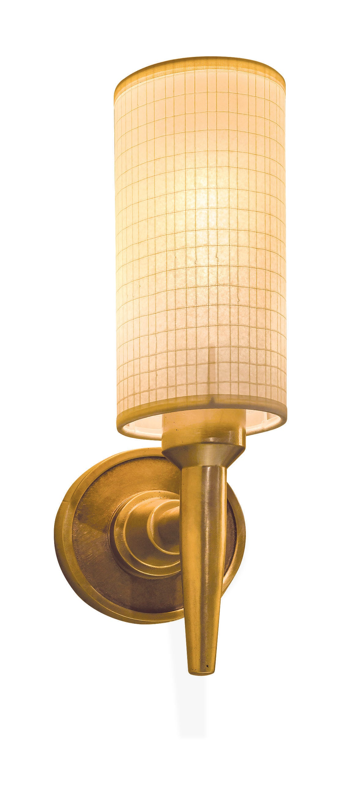 "Sun Valley Bronze SVB-LSC-1050  Olson Wall Sconce  4"" x 4"" x 9"" Rolled edge shade"