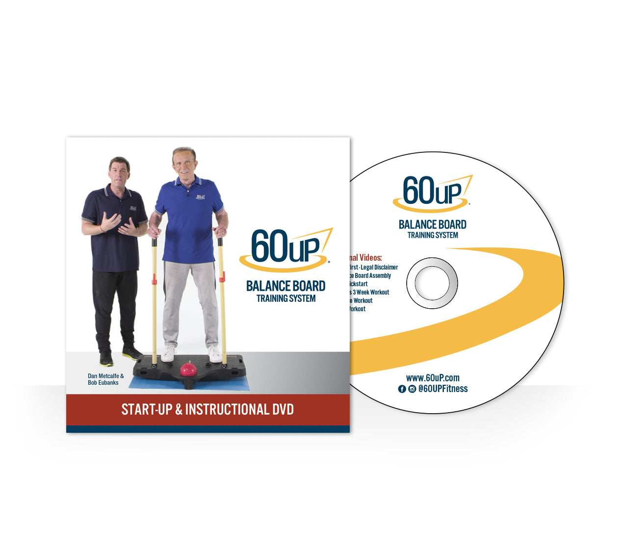 60uP Exercise Videos DVD