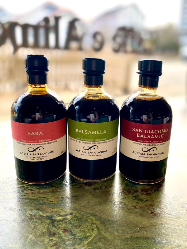 Exclusively Available at La Tana- Acetaia San Giacomo Balsamic's!
