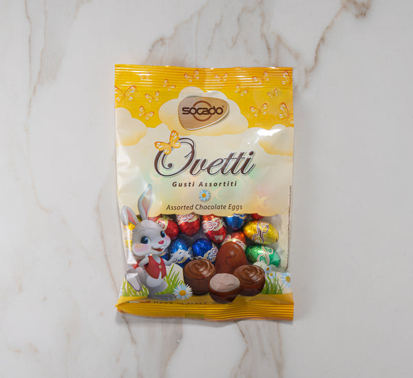 Ovetti Chocolate Eggs, Various Flavours